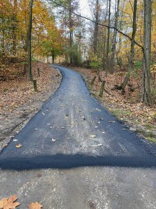 Asphalt Path Paving