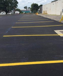 Paved Parking Lot