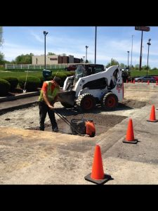 Fast Food Entrance/Exit Asphalt Repair